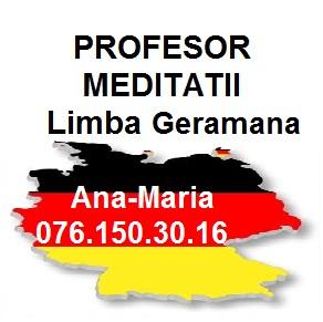 AnaMaria Meditatii Germana