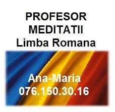 Meditatii Romana Liceu