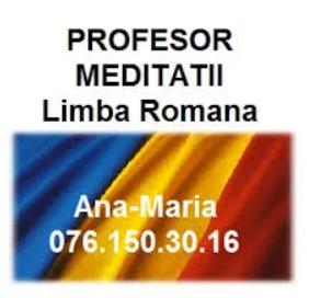Meditatii Romana Meditatii Romana Evaluare Nationala